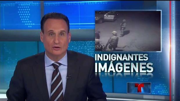 Un video muestra a soldados disparando a un hombre en México