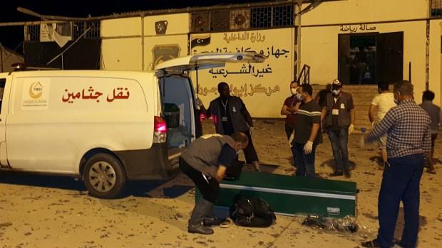 Ataque aéreo contra centro migrantes deja 40 muertos
