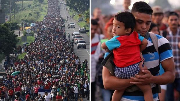 Caravana migrante: cómo surgió el éxodo que pone nervioso a Trump
