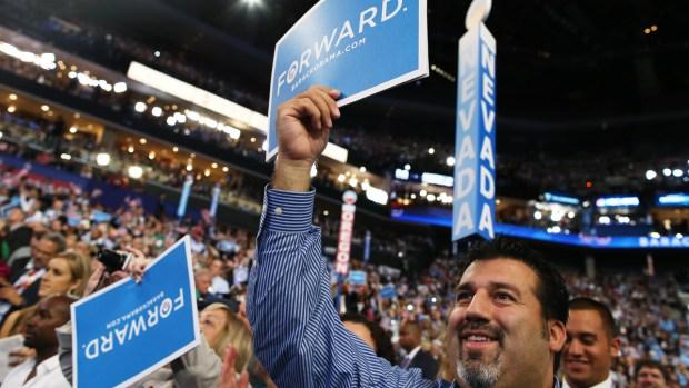 Así es la Convención Demócrata