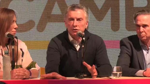 [TLMD - LV] Macri reconoce su derrota en las primarias en Argentina