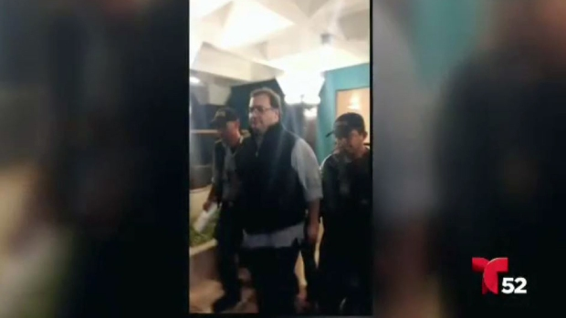 Arrestan a exgobernador mexicano en Guatemala