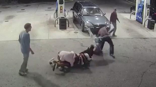 Captado en video: quiere robar y termina recibiendo una paliza