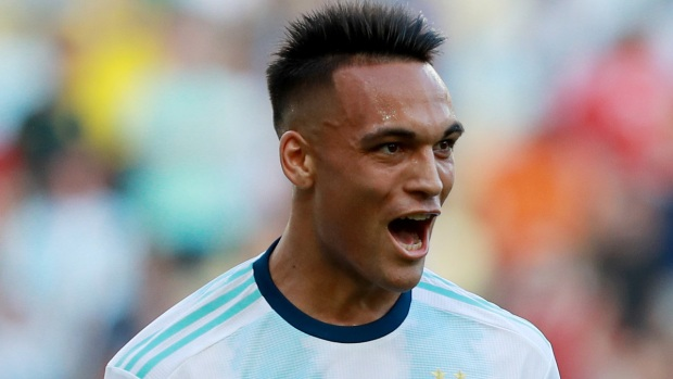 El golazo de taquito que puso el 1-0 para Argentina