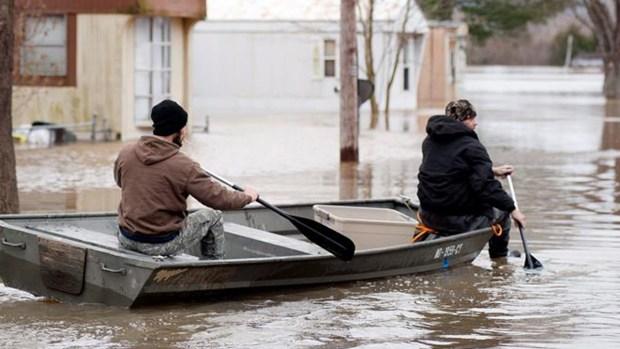 Fotos: inundaciones dejan muertos y afectan a millones