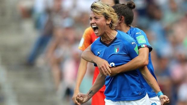 [WWC 2019 - PUBLICADO] Finalmente Italia aprovecha los errores de China y se adelanta