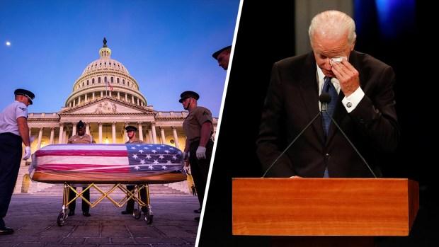 """Joe Biden: """"soy un demócrata y amé a John McCain"""""""