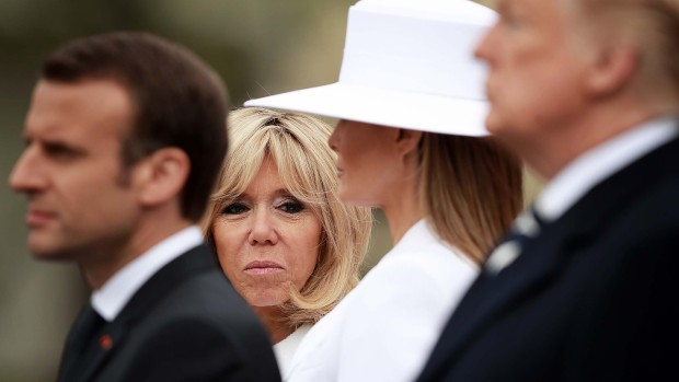 Trump recibe al joven presidente que se casó con su maestra