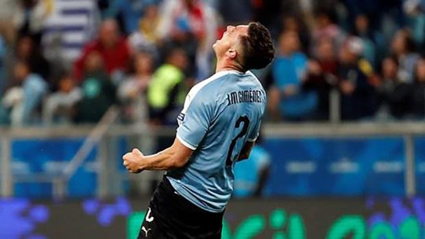 [TLMD - NATL] El defensa José María Giménez pone el empate 2-2 para Urugua