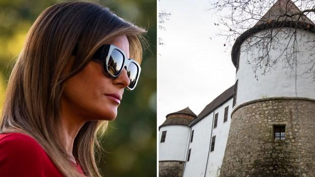 El increíble pueblo con castillo donde nació Melania Trump