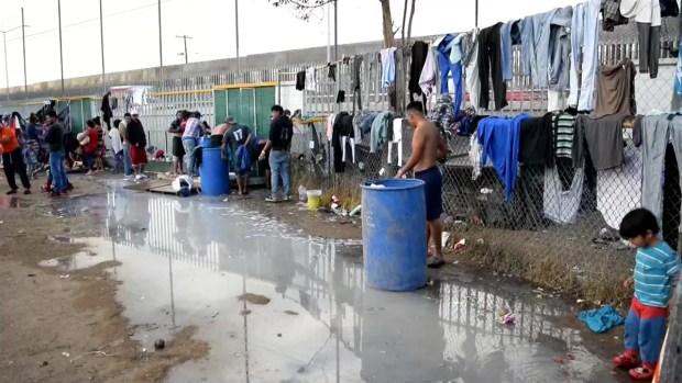 [TLMD - LV] Albergue de migrantes en Tijuana cerca del punto crítico de hacinamiento
