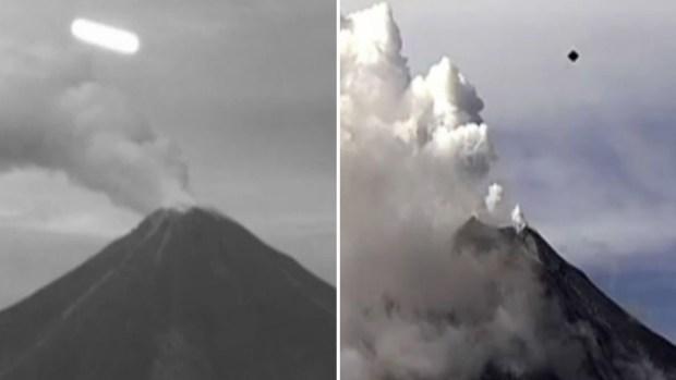 Video: ¿Vuelan ovnis sobre el volcán de Colima?
