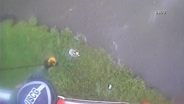 [TLMD - LV] Dramático rescate tras accidente de hidroavión