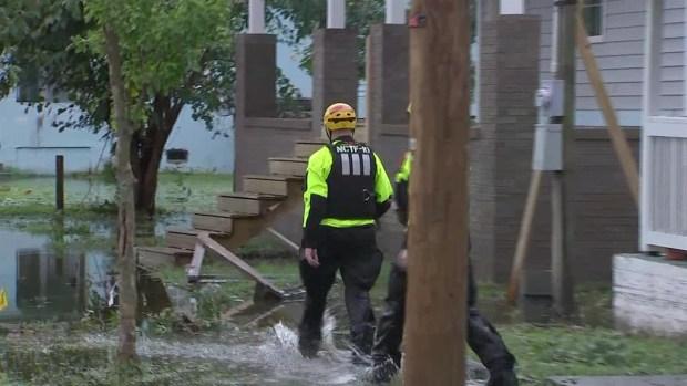 [TLMD - LV] Rescates en vecindarios inundados por Florence