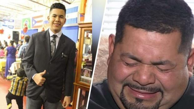 """Mataron a mi hijo"": joven hispano muere atropellado"
