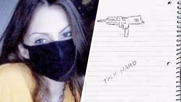 "[TLMD - LV] Revelan supuesto diario de joven que estaba ""obsesionada"" con matanza"