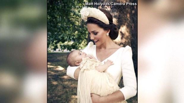 Fotos oficiales: bautizo del príncipe Louis y la nueva familia real