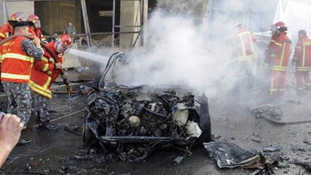 Video: Carro bomba mata a exministro en Beirut