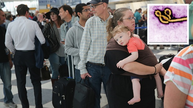 Video: EEUU: Aeropuertos examinarán por ébola