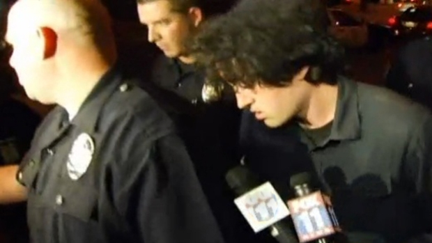 Video: Detenido en edificio de LA Times