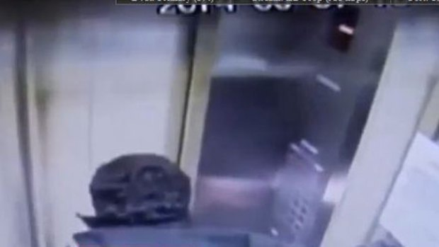 "Video: Ascensor ""loco"" se estrella a 50 mph"