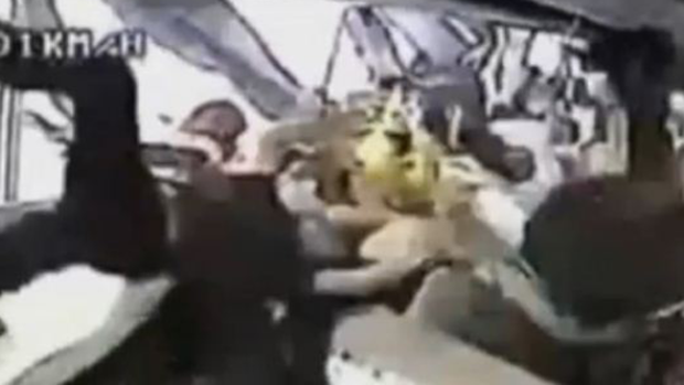 Video: Captan brutal accidente de autocar