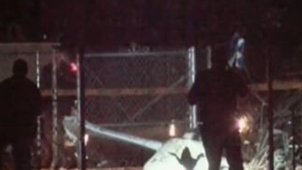 Video: Avioneta choca con un árbol, 2 muertos