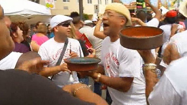 Video: Calle 8: fue a bailar y le pegan un tiro