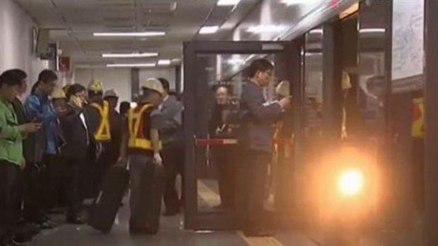 Video: Otro accidente en Seúl: choque de trenes