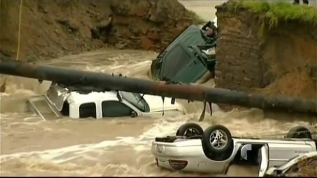 Video: Estado de emergencia en Colorado