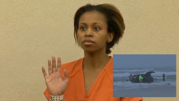 Video: Acusan a madre de querer ahogar hijos
