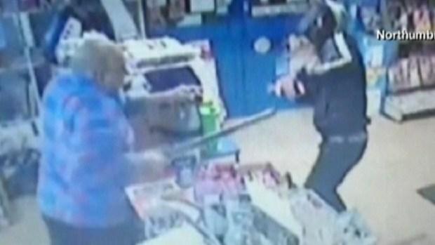 Video: Robo en tienda acaba con espadachines