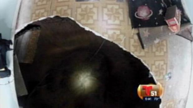 Video: Este hueco se tragó a un hombre