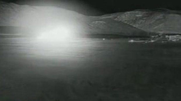 Video: Captan tragedia de jet estrellándose