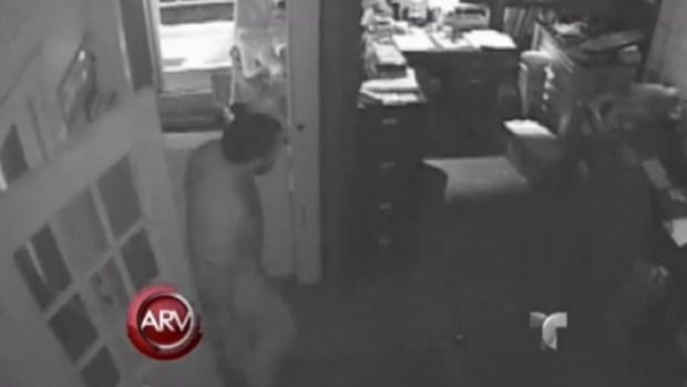 Video: Ladrón se queda dormido durante robo