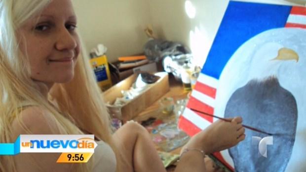Video: Sin manos pero con pies artísticos