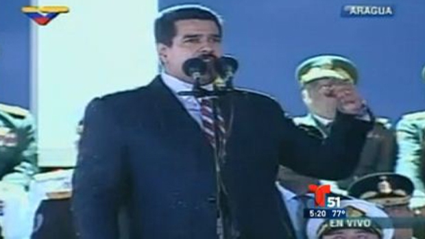 Video: Desliz sexual en discurso de Maduro