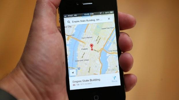 Video: iPhone los lleva por ruta peligrosa