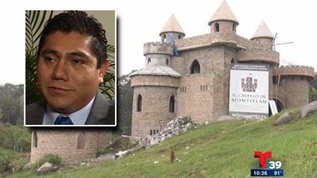Video: Castillo de senador causa polémica