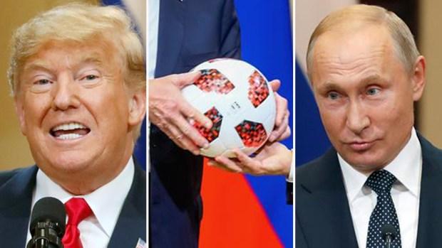 ¿Qué significa la pelota que Putin le dio a Trump?