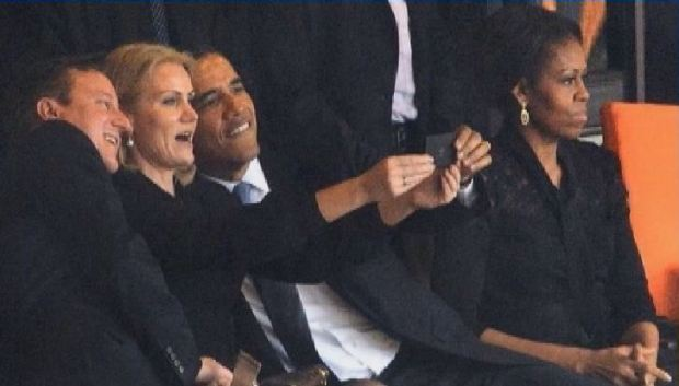 "Video: El ""selfie"" de Obama causa gran revuelo"