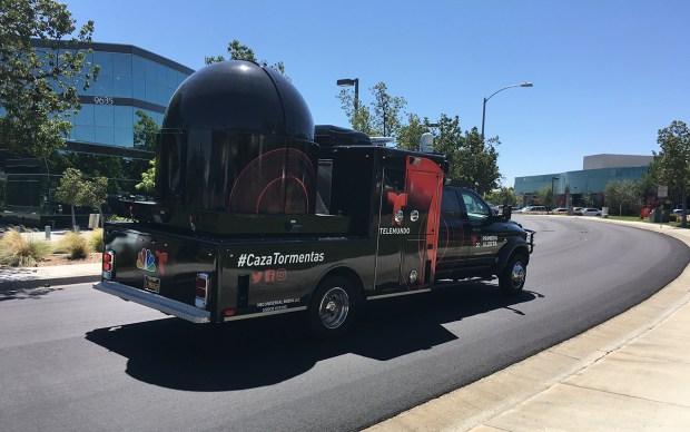 [TLMD SD] El CazaTormentas de Telemundo 20, un radar meteorológico como ningún otro