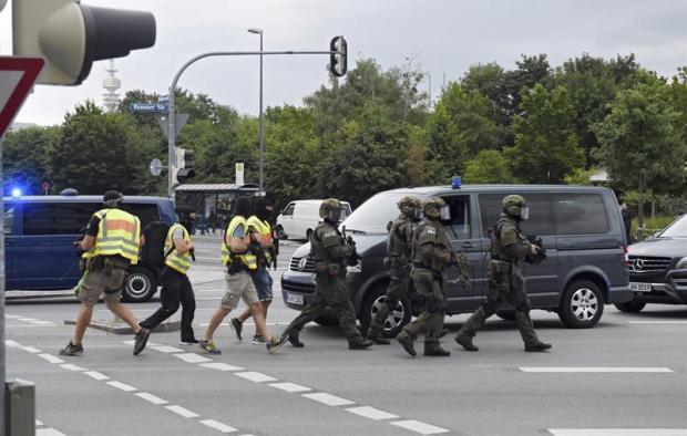Tiroteo en centro comercial: muertos y heridos en Munich