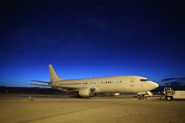 El jet privado de ICE para las deportaciones