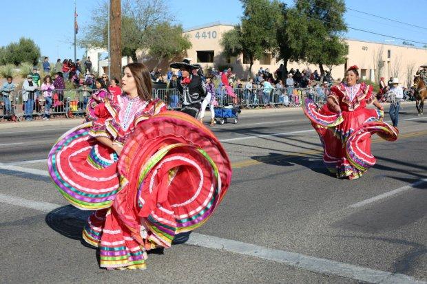 Fiesta vaquera en Tucson
