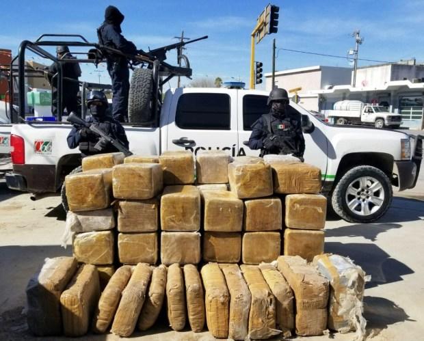 Descubren casi 1,200 libras de marihuana en bodega subterránea