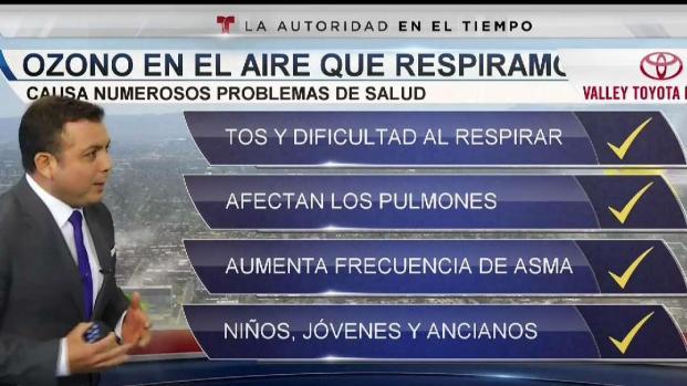 [TLMD - AZ] El ozono y sus efectos cuando lo respiramos