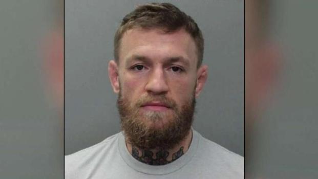 [TLMD - MIA] Sale bajo fianza el peleador de MMA Conor McGregor