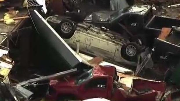 [TLMD - LV] Tornados en Oklahoma dejan muerte y destrozos
