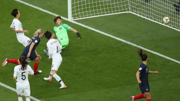 [TLMD - LV] Francia hace el primer gol de la Copa Mundial Femenina
